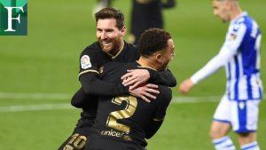 FC Barcelona goleó y sigue el ritmo de la punta en España