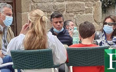 """Leopoldo López desmintió que lo multaran: """"Estoy en Galicia reunido con víctimas de Maduro"""""""