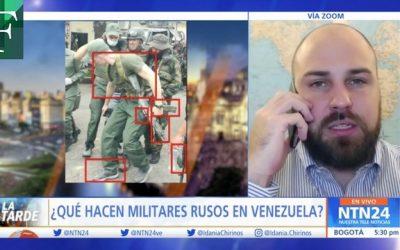 ¿Qué hacen militares rusos en Venezuela?
