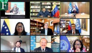 Maduro se reunió con directores de la OMS y OPS para la entrega de vacunas
