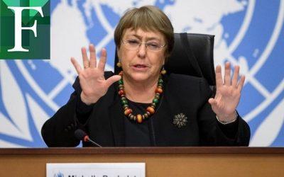 Michelle Bachelet habló con Estados Unidos sobre Venezuela