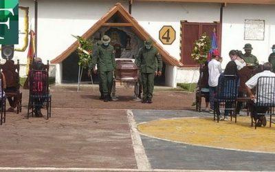 Enterraron a dos de los militares venezolanos que murieron en el conflicto armado en Apure
