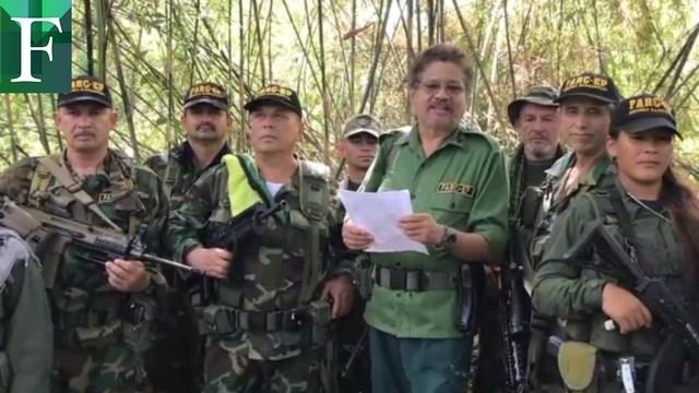 Iván Márquez reitera lealtad a Maduro: Nuestra lucha es en Colombia