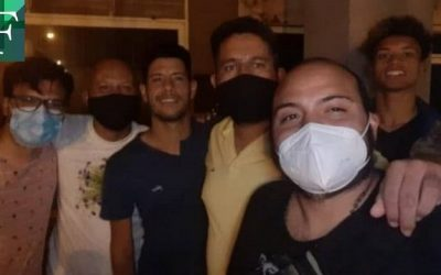 Liberaron a los jóvenes detenidos en Aragua por realizar labores de desinfección