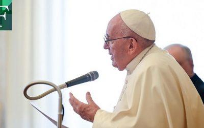 Papa pide una vacunación solidaria donde no prevalezca la ley del mercado