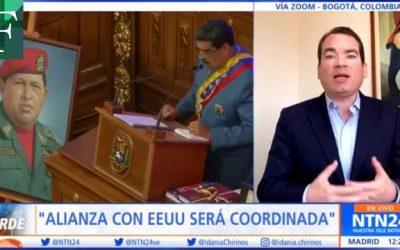 Tomás Guanipa: Alianza con Estados Unidos será coordinada