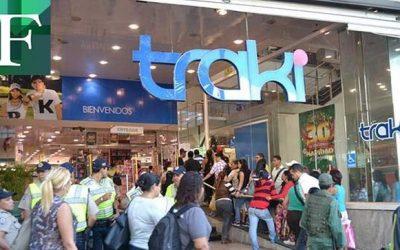 Ordenaron el cierre de tiendas Traki por incumplimiento de cuarentena