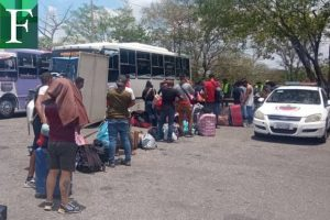 Investigan red que se dedicaba al traslado irregular de migrantes venezolanos retornados