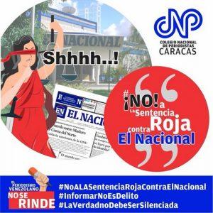 Repudio generalizado al embargo judicial de edificio de diario El Nacional