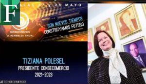 Tiziana Polesel será la presidenta de Consecomercio para el período 2021-2023