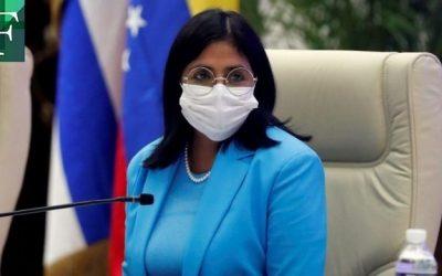 Delcy Rodríguez asegura que 11% de los venezolanos han sido vacunados