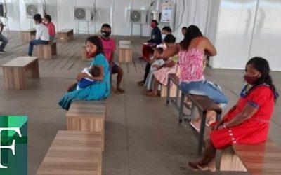 11 waraos caminaron durante seis días para llegar a Brasil