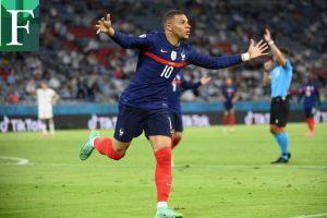 Francia apabulló a Alemania en un duro partido en el que le anularon dos goles