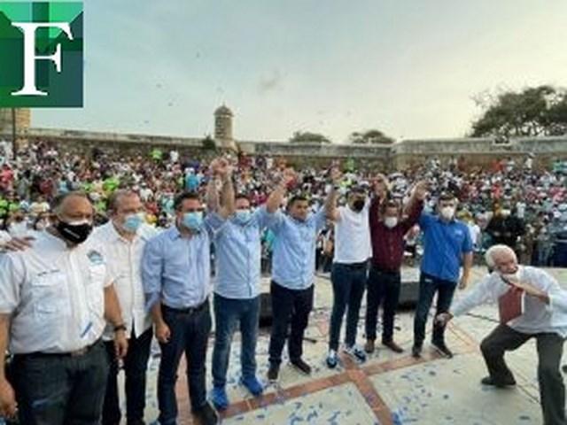 Alcaldes Democráticos Unidos por Venezuela recorren el país llevando invitando a votar