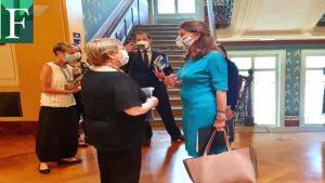 Vicepresidenta de Colombia se reúne con Michelle Bachelet