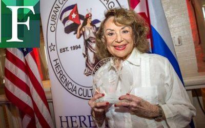 Muere Delia Fiallo a los 96 años de edad
