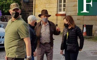 Indiana Jones 5 con  Harrison Ford comenzó rodaje
