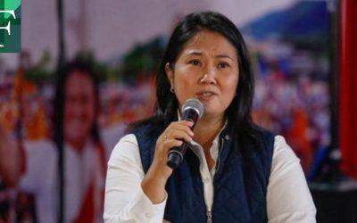 Fujimori exigió recuento de votos tras asistir a marcha de Fuerza Popular