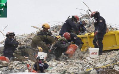 Ascienden a 12 los muertos  en lento rescate de edificio colapsado en Miami