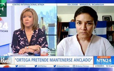 Sigue la represión de Ortega contra opositores con detención de Tamara Dávila y general retirado