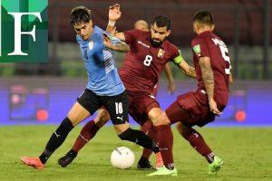 Venezuela y Uruguay empatan sin goles en un partido cerrado