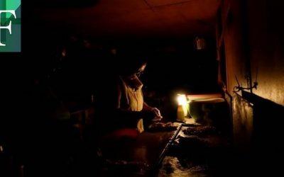 Reportan fallas eléctricas en varias regiones del país
