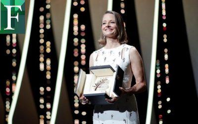 Jodie Foster recibe la Palma de Oro de Cannes