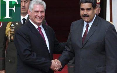 Borges: «Díaz-Canel y Maduro están aliados para tratar de apagar la lucha democrática en ambos países»
