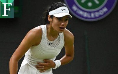 Estupor en Wimbledon por el abandono de Emma Raducanu la nueva sensación del tenis
