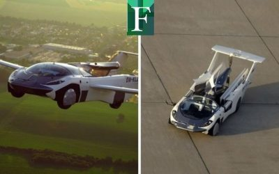 «AirCar»: El carro que se convierte en avión en 3 minutos