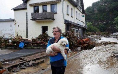 Subió a 165 el número de muertos por las inundaciones en Alemania