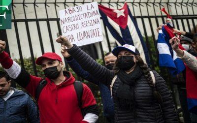 Un muerto durante las protestas antigubernamentales en Cuba