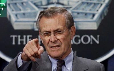 Falleció el exsecretario de Defensa de EE. UU. Donald Rumsfeld