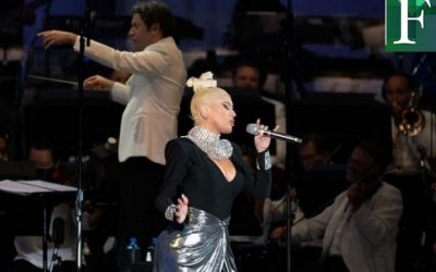Gustavo Dudamel y Christina Aguilera ofrecieron dos conciertos con la Filarmónica de Los Ángeles