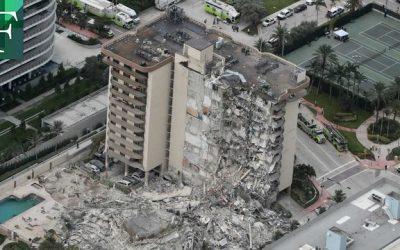 Terminó la búsqueda de sobrevivientes del edificio desplomado en Surfside