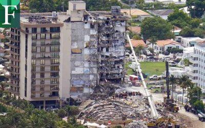 Al menos 150 millones de dólares recibirán las víctimas del edificio desplomado en Surfside