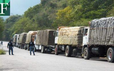 Alcabalas y escasez de combustible influyen en la pérdida de 80.000 toneladas mensuales de alimentos