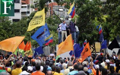 Venezolanos suscribieron el Acuerdo de Salvación Nacional