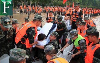 Subió a 51 muertos el balance de víctimas por inundaciones en China