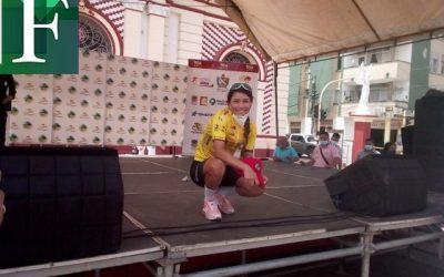 La venezolana Lilibeth Chacón gana etapa y es líder de la Vuelta a Tolima en Colombia