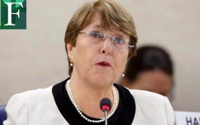 Bachelet exige que cadena de mando rinda cuentas por violaciones a los DD HH en Venezuela