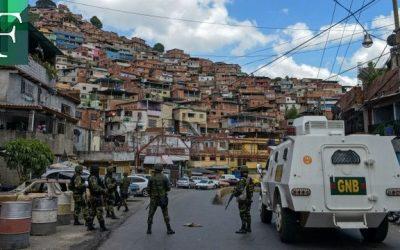 Cuatro muertos por enfrentamientos contra bandas armadas al oeste de Caracas