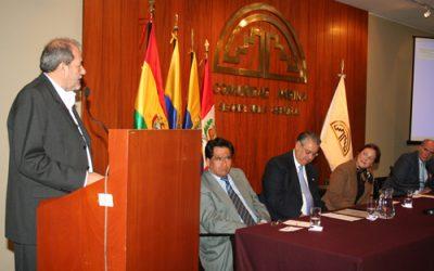 Sentido Reconocimiento se dio en el SELA al Embajador Sebastian Alegrett