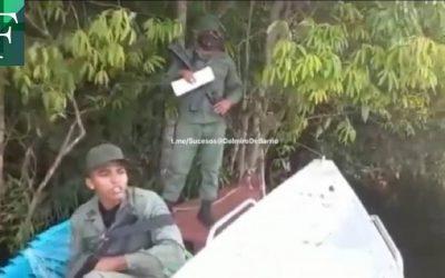 MILITARES VENEZOLANOS VIOLARON LA SOBERANÍA DE COLOMBIA Y SON EXPULSADOS POR LA ARMADA NACIONAL