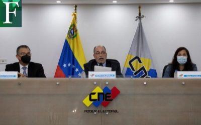 CNE amplió plazo para inscribir candidatos