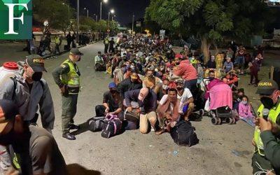 Entre venezolanos que sufren hambruna y refugiados suman 15.3 millones de personas