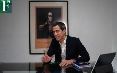 Guaidó reiteró que seguirá luchando por recuperar la democracia en Venezuela