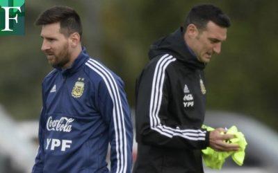 Scaloni aún no decide alinear a Messi contra la Vinotinto y faltará Salomón Rondón
