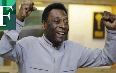 Pelé fue operado de tumor en el colón y asegura que está muy bien