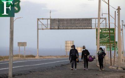Más de 17.000 venezolanos han ingresado a Chile por pasos clandestinos desde enero